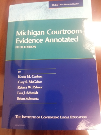 Attorney Lisa J. Schmidt Wrote the Book on Hearsay